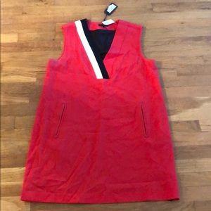 Rag and Bone NWT Size 12 red w/ black/white stripe